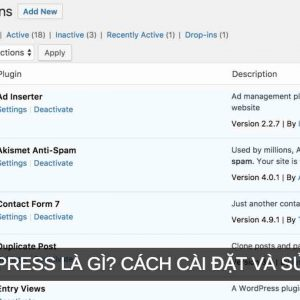 plugin wordpress la gi