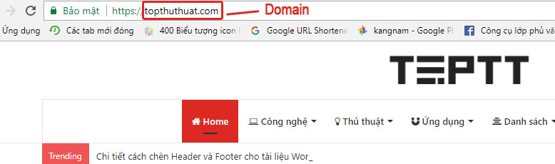 tro domain ve hosting