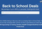 backtoschools deals namecheap