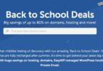backtoschools deals namecheap