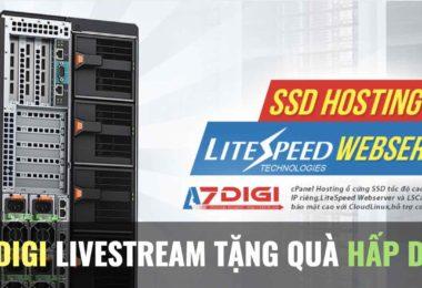 azdigi livestream tang qua