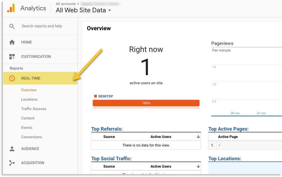 google analytics thiet lap